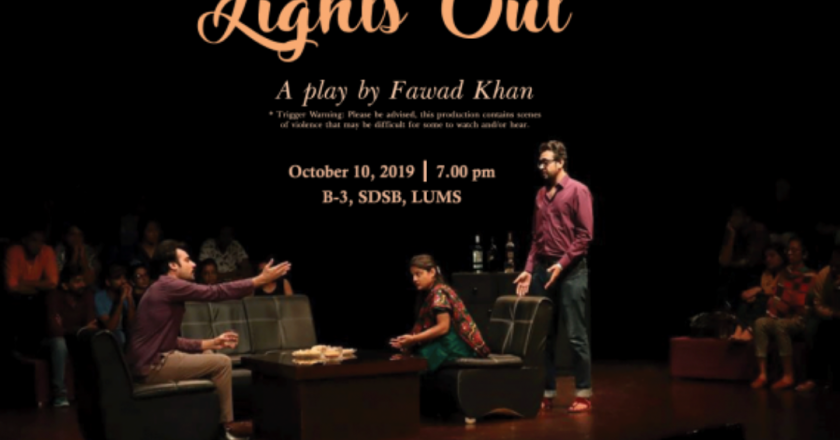 """Play, Plague, and Public Hate: On Fawad Khan's """"Light's Out"""""""