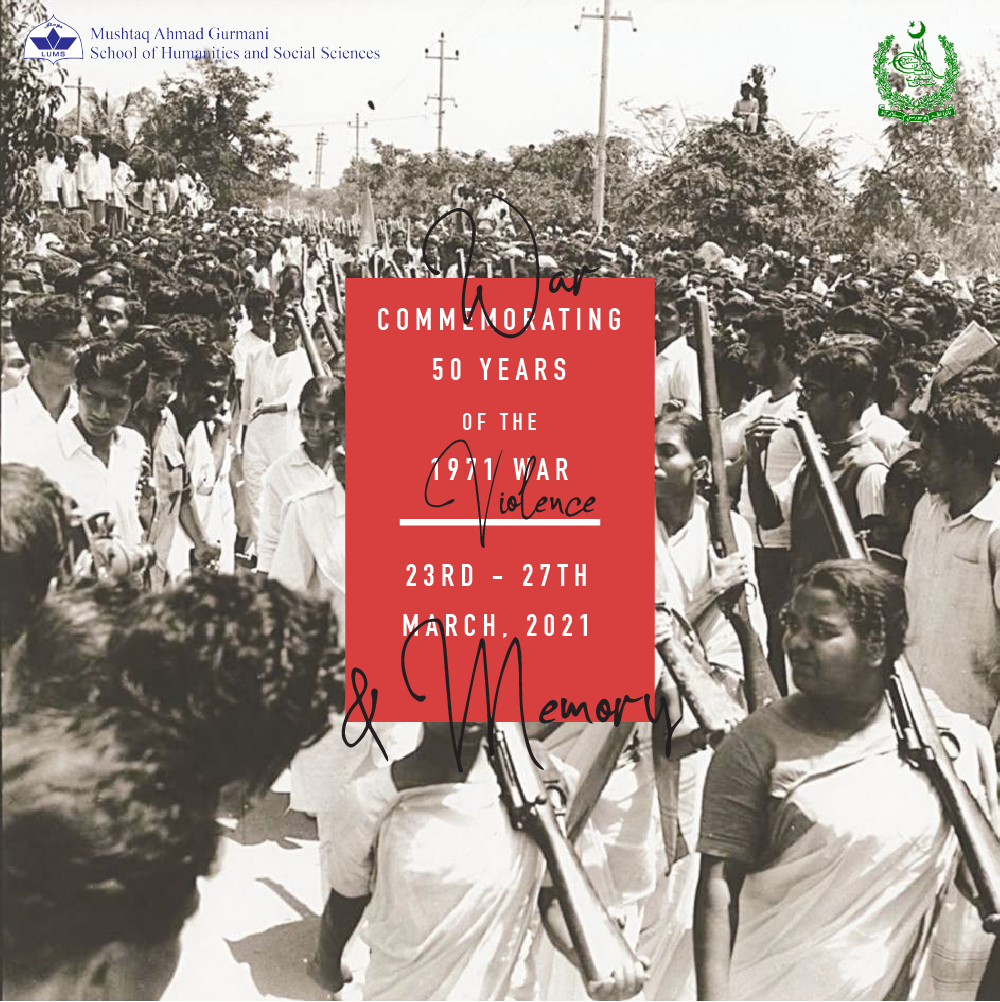(No) Memory of War and Violence: Conference Series on 1971 War Cancelled.